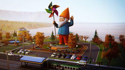 Captivating Giant Garden Gnome